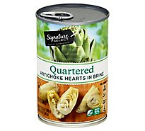 Signature SELECT Artichokes Quartered - 13.75 Oz