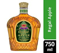 Crown Royal Whisky Flavored Regal Apple 70 Proof - 750 Ml