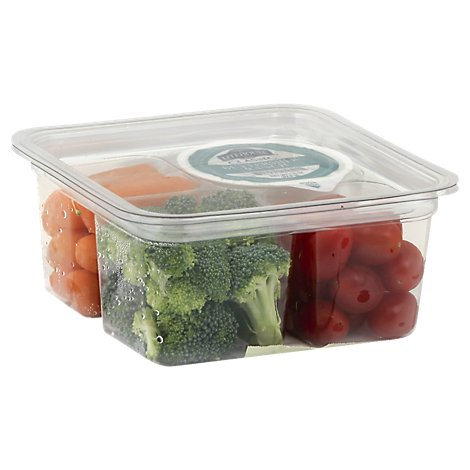 Fresh Cut Snack Pack Veggie Ranch - 7 Oz (350 Cal)