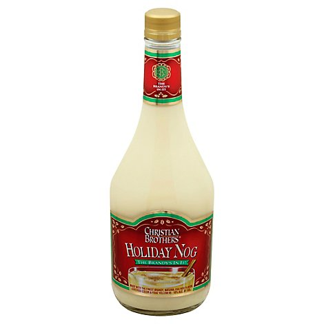 Christian Brothers Egg Nog With Brandy Holiday - 750 Ml