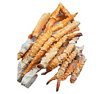 Seafood Service Counter Crab King Alaskan Leg & Claw 9-12 Ct Previously Frozen - 2.00 LB