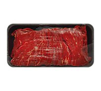 Meat Counter Beef USDA Choice Sirloin Flap Meat Sliced - 1.50 LB