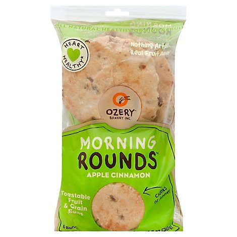 Ozery Bakery Apple Cinnamon Morning Rounds - 12.7 Oz