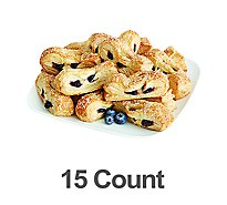 Bakery Strudel Straws Blueberry & Cheese 15 Count - Each