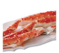 Seafood Counter Crab King Alaskan Leg & Claw 16-20 Count Frozen - 1.5 Lb