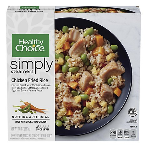 Healthy Choice Chicken Fried Rice - 10 Oz