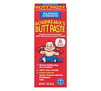 Boudreauxs Butt Paste Maximum Strength - 2 Oz