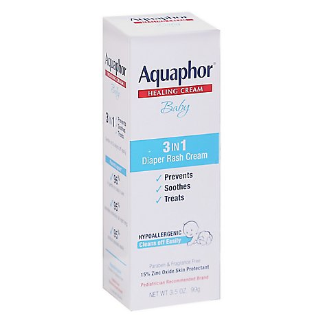 Aquaphor Rash Cream Diaper - 3.5 Oz
