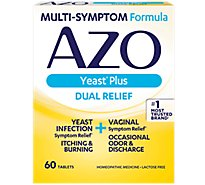 AZO Yeast Plus Tablets - 60 Count