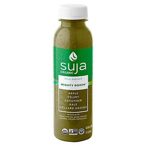 Suja Fruit & Vegetable Juice Drink Organic Mighty Dozen - 12 Fl. Oz.