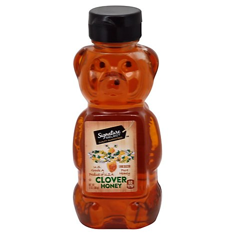 Signature SELECT Honey Clover Squeeze Bear - 12 Oz