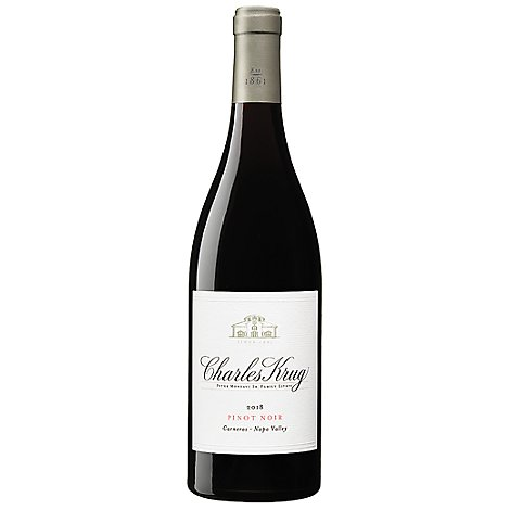 Charles Krug Wine Pinot Noir Carneros Napa Valley 2018 - 750 Ml