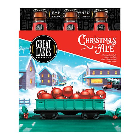 Great Lakes Brewing Company Ale Christmas Bottles - 6-12 Fl. Oz.