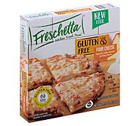 Freschetta Pizza Gluten Free Single Serve 4 Cheese Medley Frozen - 5.5 Oz