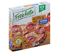 Freschetta Pizza Gluten Free Single Serve Signature Pepperoni Frozen - 5.5 Oz