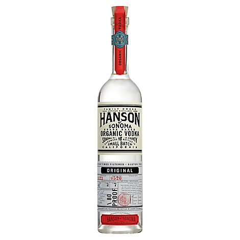 Hanson Organic Vodka 80 Proof - 750 Ml