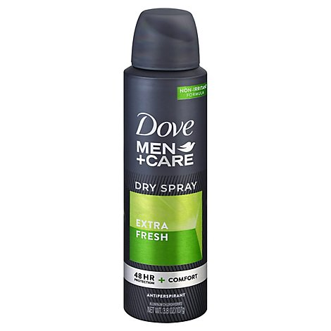 Dove Men+Care Antiperspirant Dry Spray Extra Fresh - 3.8 Oz