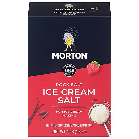 MORTON Salt Ice Cream - 4 Lb