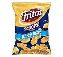 Fritos Scoops! Corn Chips Party Size! - 18 Oz