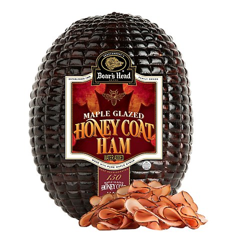 Boars Head Honey and Maple Glazed Ham - 0.50 Lb.