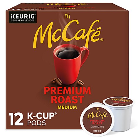 McCafe Coffee K Cup Pods Medium Roast Premium Roast - 12 Count