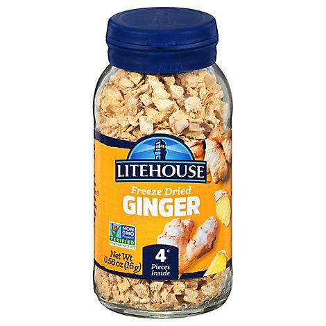 Litehouse Instantly Fresh Herbs Ginger - .56 Oz