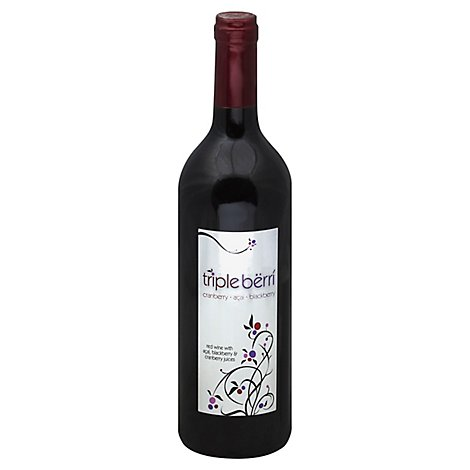 Grove Selections Triple Berri Wine - 750 Ml