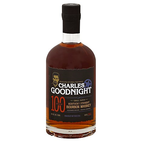 Charles Goodnight Kentucky Bourbon 100 Proof - 750 Ml