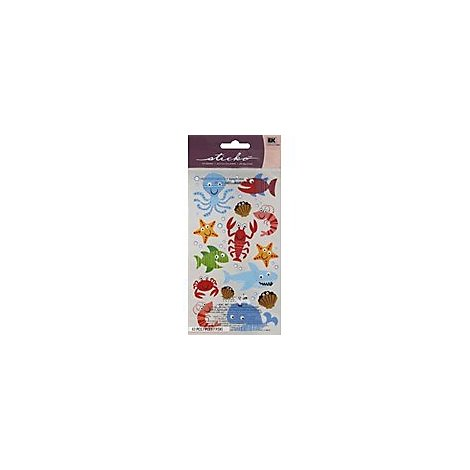 Sticko Stickers Sea Life Fun - Each
