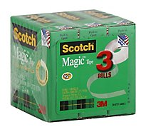 Scotch Tape Magic Dispenser Refills - 3 Count