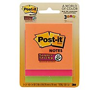 Post-it 3x3 Super Sticky Notes - 3Count