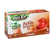 Tree Top Apple Sauce Cinnamon Pouches - 12-3.2 Oz