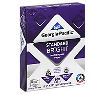 Georgia Pacific Standard Bright Multi Purpose Paper - 500 Count