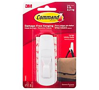 Command Utility Hook General Purpose Holds 5 Lb - Each