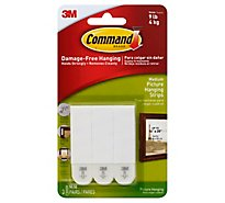 3M Command Picture Hanging Strips Medium - 3 Count