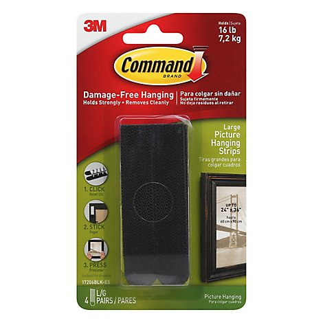 Command Large Picture Hanging Strips - Each