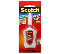 Scotch Gel With Applicator Super Glue - .14 Oz