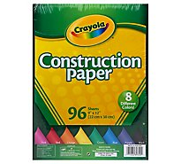 Crayola Construction Paper - 96 Count