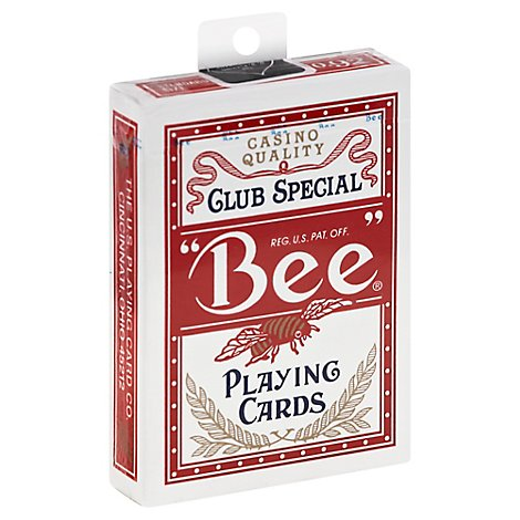 Bee Club Special Us Play Cards - Each
