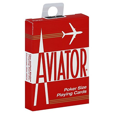 Aviator Poker Cards - Each