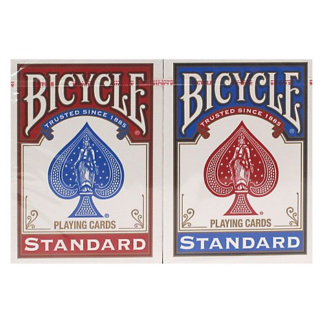 Bicycle Poker Cards - 2 Count