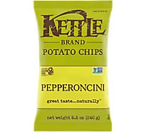 Kettle Potato Chips Pepperoncini - 8.5 Oz