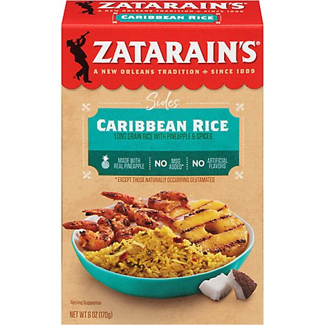 Zatarains Mix Rice Caribbean - 6 Oz