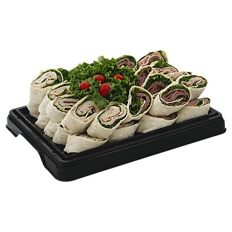 Deli Catering Tray Pinwheel Party 8 To 12 Serving - Each