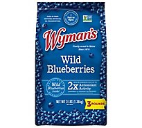 Wymans Blueberries Wild - 3 Lb