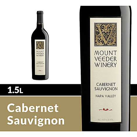 Mount Veeder Wine Red Napa Valley Cabernet Sauvignon - 1.5 Liter