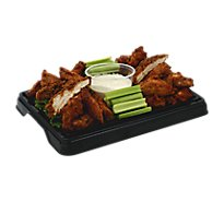 Deli Catering Tray Chicken Wings & Tenders 8 To 12 Servings - Each