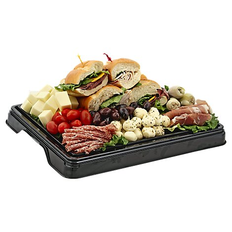 Deli Catering Tray Italian Picnic 8 To 12 Servings - Each