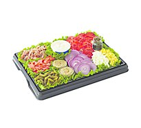 Deli Catering Tray Smoked Salmon - 12-16 Servings