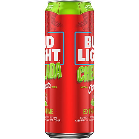 Bud Light Chelada Extra Lime In Cans - 25 Fl. Oz.